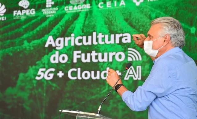 Rio Verde recebe rede de internet móvel 5G