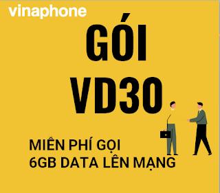 Gói cước VD30 Vinaphone