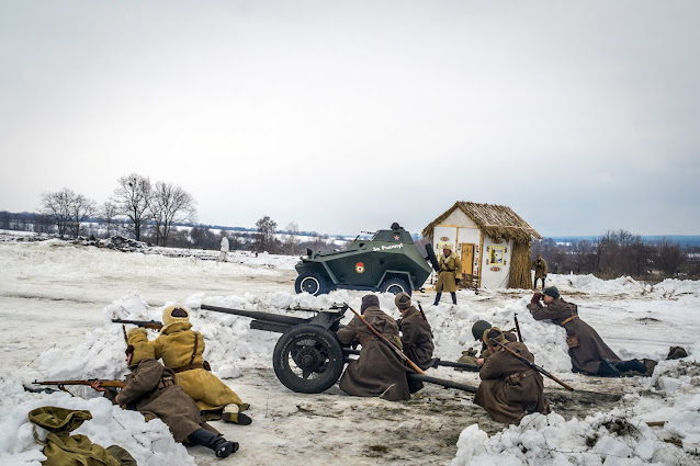 Реконструкция боя при Соколово 9.03.2018 - 25