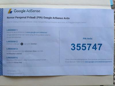 Cara Verifikasi PIN Adsense Dengan Benar Pakai KTP