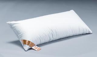 Almohada de plumas de pato