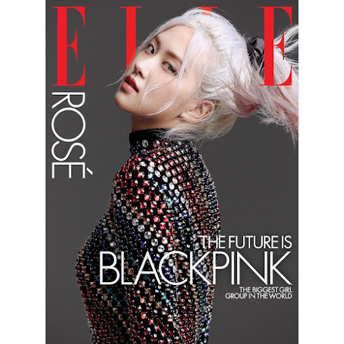 Park Chae Young black pink