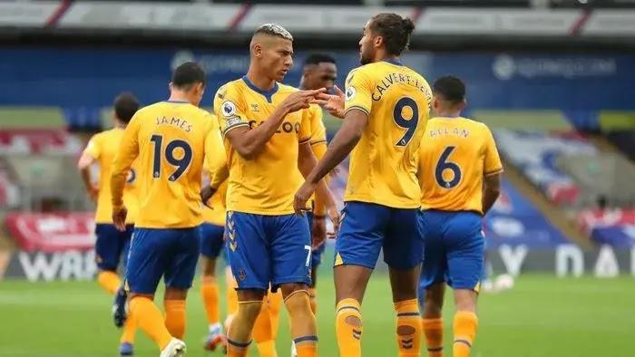 Crystal Palace Vs Everton, Everton Menang Lagi dan Naik ke Puncak Klasemen