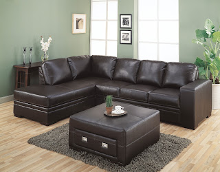 Sectional Dark Brown Furniture
