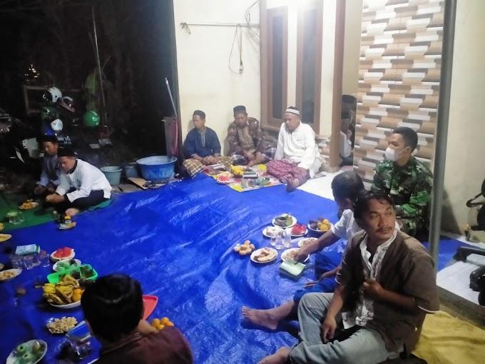 Jalin Silaturahmi Dengan Warga. Satgas TMMD Ikut Takziah Kerumah Duka