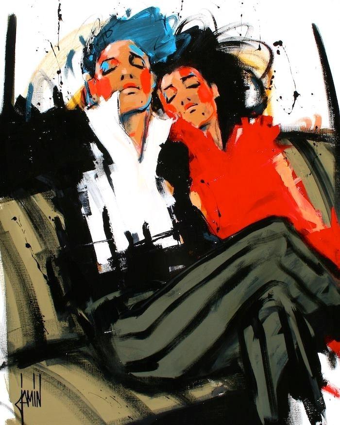 Французский художник. David Jamin