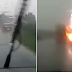 Nevjerovatan snimak iz Tuzle: Kamerom zabilježio udar groma - VIDEO