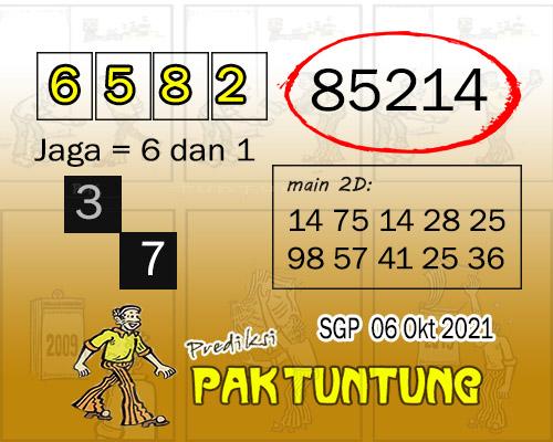paktuntung SGP Rabu 06 Oktober 2021
