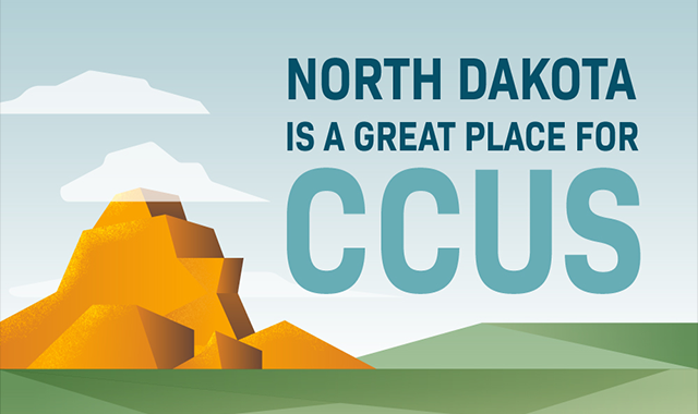 North Dakota is a Great Place for Ccus