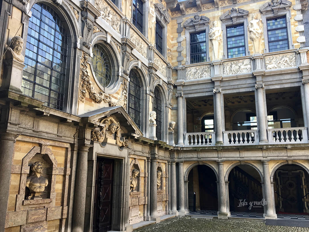 Fachada de la casa de Rubens