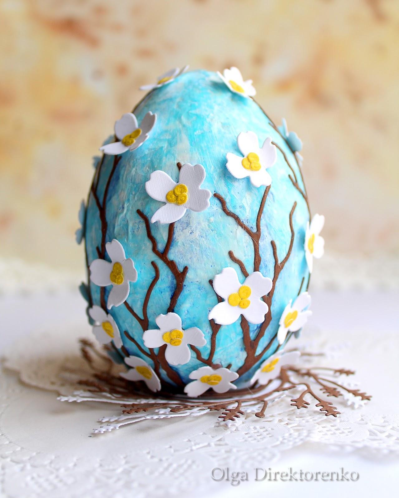 Building Your World Easter Egg Decoration