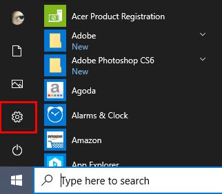 Windows - Settings
