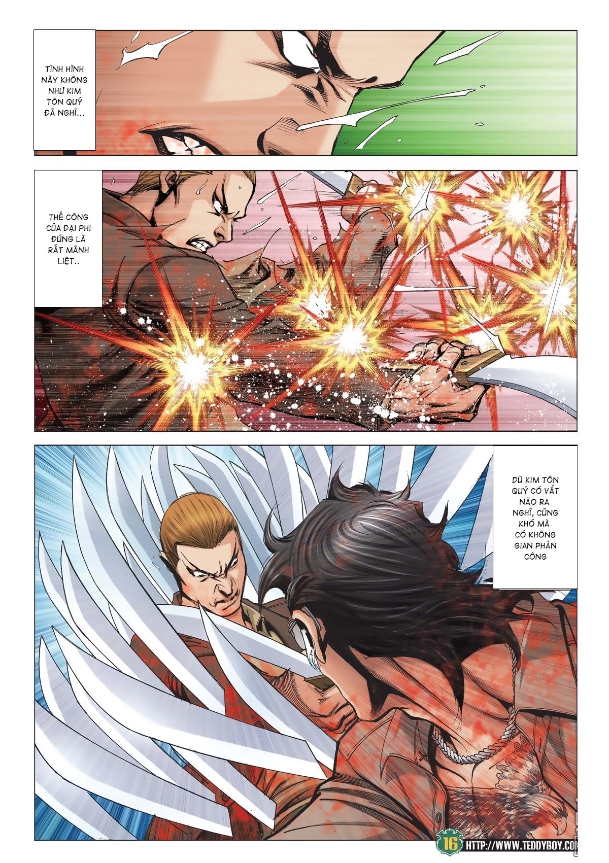 Người Trong Giang Hồ chapter 2033: kim tôn quý vs đại phi trang 13