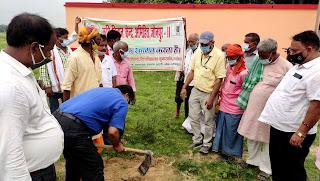 बुवाई से पहले मिट्टी की जांच व बीज शोधन जरूरीः डा. राकेश  | #NayaSaberaNetwork