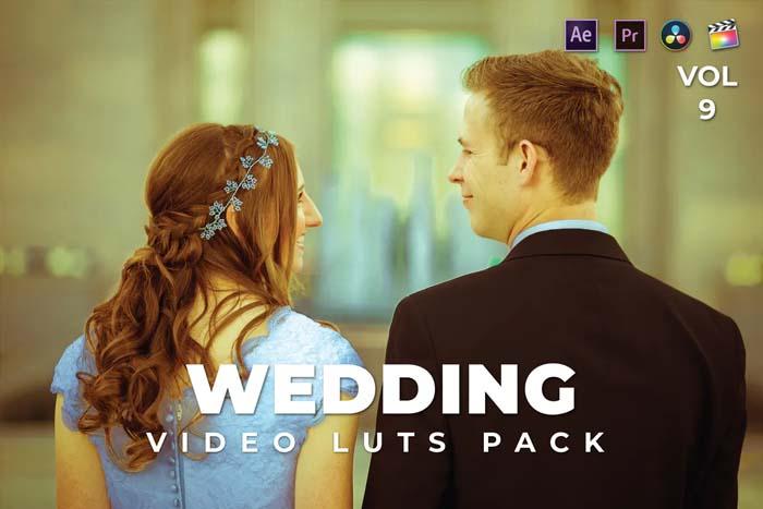 Wedding Pack Video LUTs Vol.9