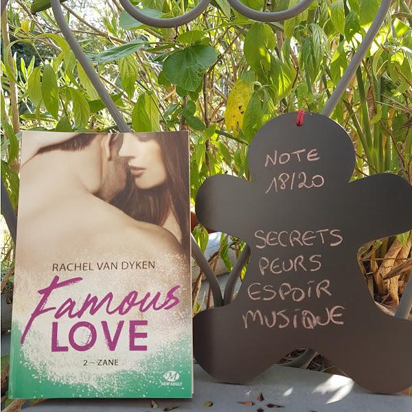 Famous Love, tome 2: Zane de Rachel Van Dyken