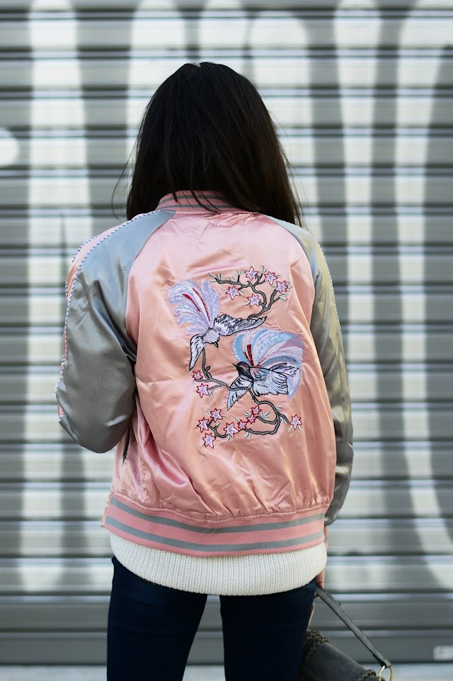 The Embroidered Bomber Jacket
