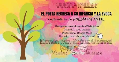 INVITACIÓN Curso-taller online: El poeta regresa a su infancia y la evoca