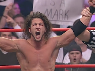 WCW Superbrawl Revenge 2001 - Shane Helms won the opening match