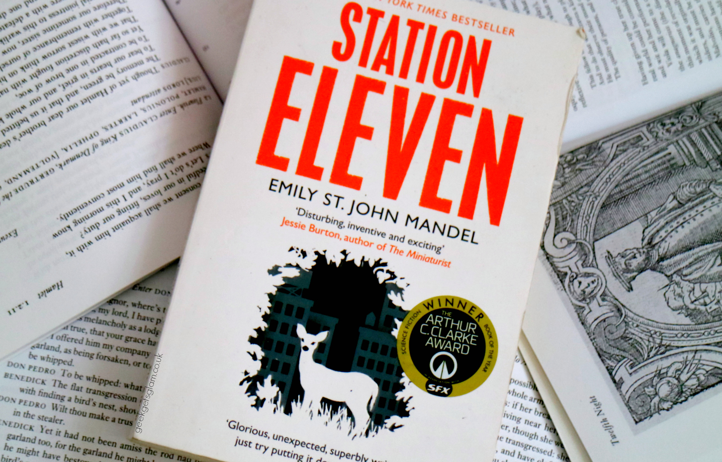 Station Eleven, By Emily St John Mandel, Is A Hybrid Book Of  Postapocalypse Science Fiction, People And Relationships, And Popular  Culture