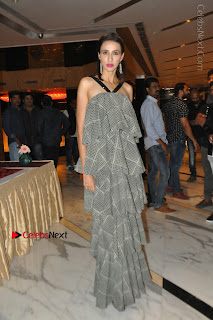 Indian Actress Model Alesia Raut Stills in Sleeveless Long Dress  0026.JPG