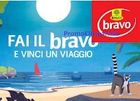 Logo Concorso ''Fai il Bravo'' e vinci gratis vacanze straordinarie nei villaggi Bravo Club
