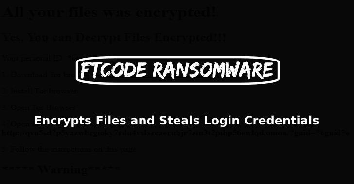 FTCODE Ransomware
