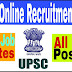 UPSC Online Recruitment 2017 | All India Posting, Latest Government Job Updates | Last Date 10.08.2017