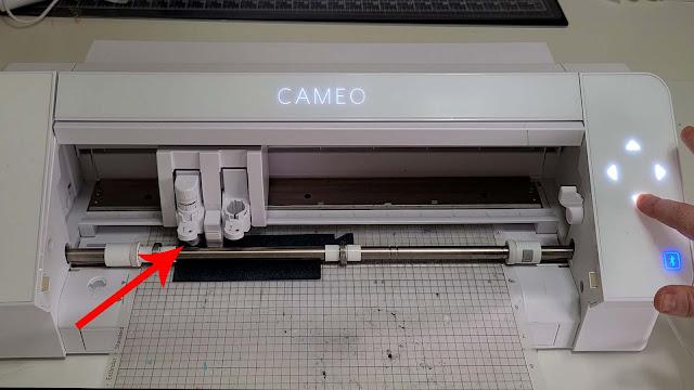 cut settings, cameo 4, HTV, silhouette cameo 4, test cut