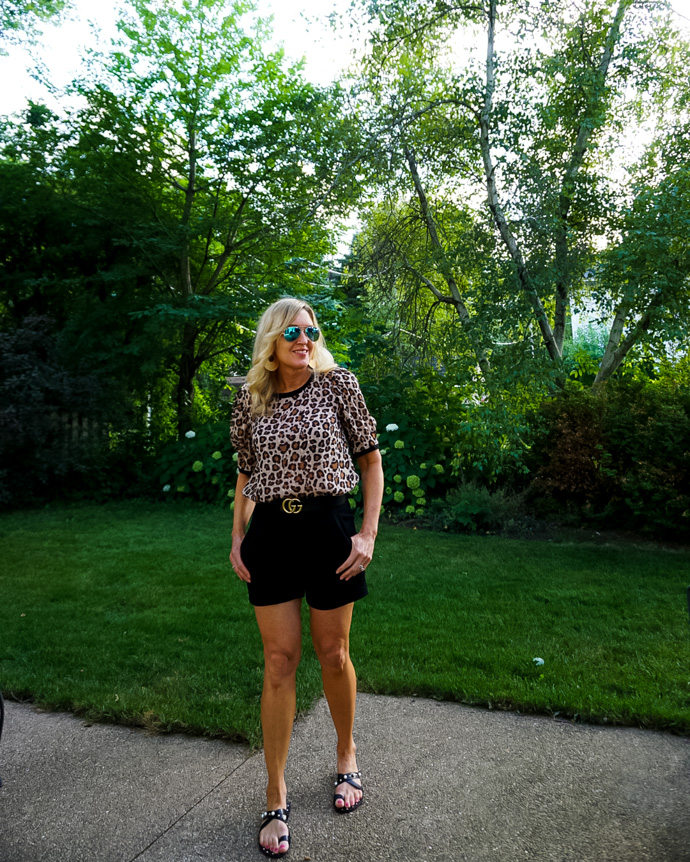 Animal Print Summer Outfit