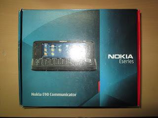 Hape Jadul Nokia E90 Communicator Seken Mulus Fullset Eks Garansi
