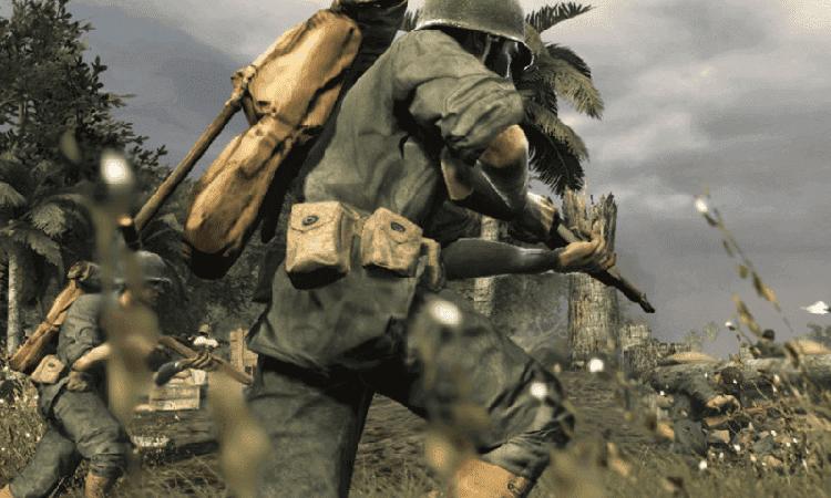 تحميل لعبة call of duty world at war الجديدة مضغوطة
