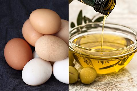 وصفة البيض وزيت الزيتون