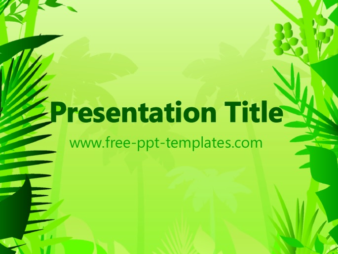 Jungle ppt template toneelgroepblik Image collections