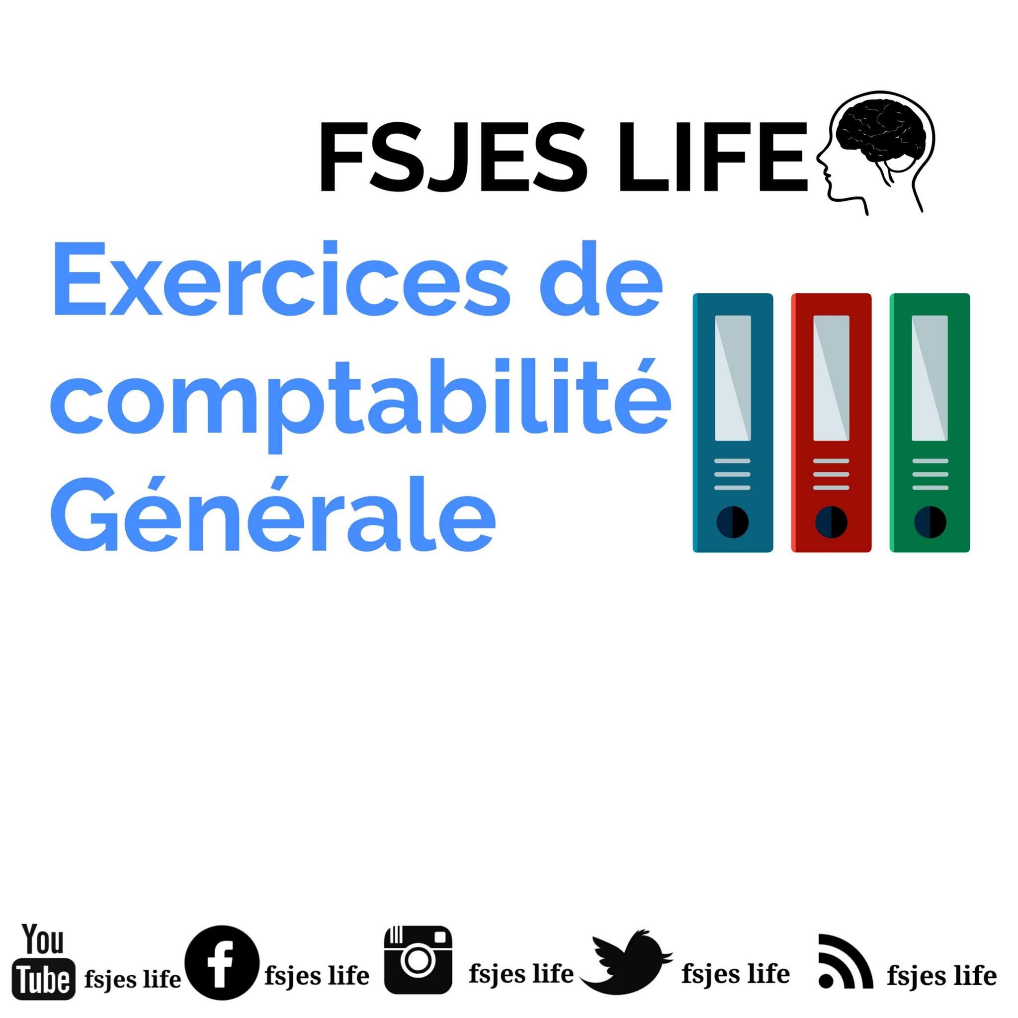 Exercices De Comptabilite Generale S1