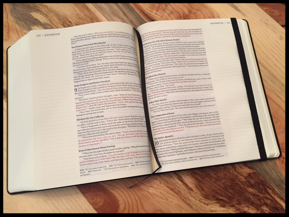 journal the word bible book review and giveaway