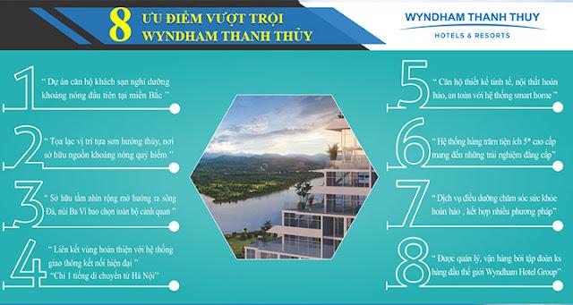 Dự án khu nghỉ dưỡng khoáng nóng 5 sao Wyndham Thanh Thủy Phú Thọ