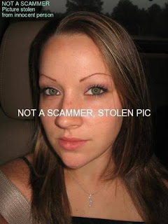 Innocent photo for scamming