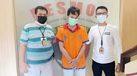 Polisi ringkus terduga pelaku penipuan penjual tabung oksigen palsu