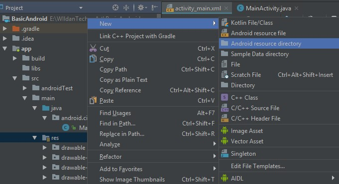 Membuat_Menu_pada_Project_Android_Studio