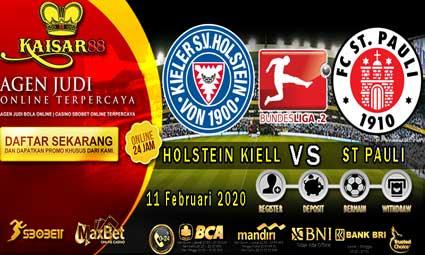 PREDIKSI BOLA TERPERCAYA HOLSTEIN KIELL VS ST PAULI 11 FEBRUARI 2020