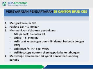 syarat pendaftaran bpjs mandiri