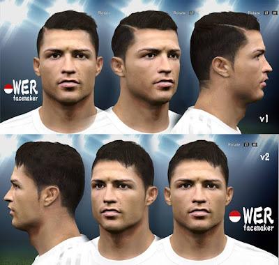Cristiano Ronaldo 2 versions