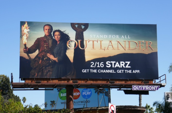 Outlander season 5 billboard