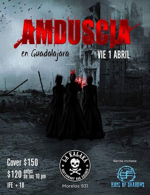 Amduscia  Vuelve a Guadalajara tras una larga ausencia.