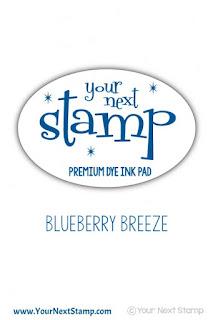Premium Dye Ink Pad Blueberry Breeze