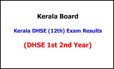Kerala Plus Two Exam Results