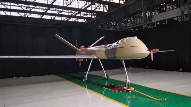 Drone Militer Elang Hitam Buatan Indonesia