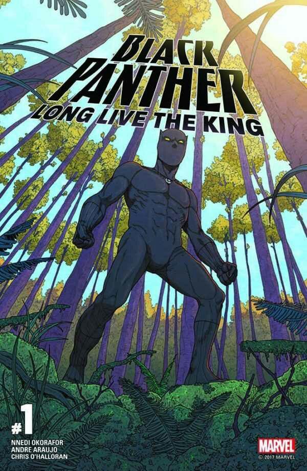 Nnedi Okorafor to write black panther marvel comics
