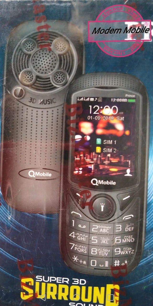 Qmobile Prince Flash File